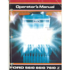New Holland 5610 Tractor Operator's Manual (364996)