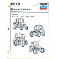 New Holland 3930 Tractor Operator's Manual (42343042)