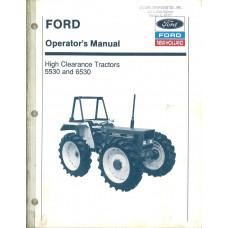New Holland 5530 Tractor Operator's Manual (42553020)