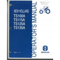 New Holland TS135A Tractor Operator's Manual (6045351100)
