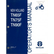 New Holland TN90F Tractor Operator's Manual (86561625)