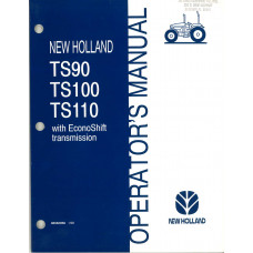 New Holland TS110 Tractor Operator's Manual (86562958)