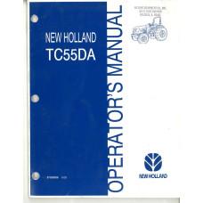 New Holland TC55DA Tractor Operator's Manual (87028936)