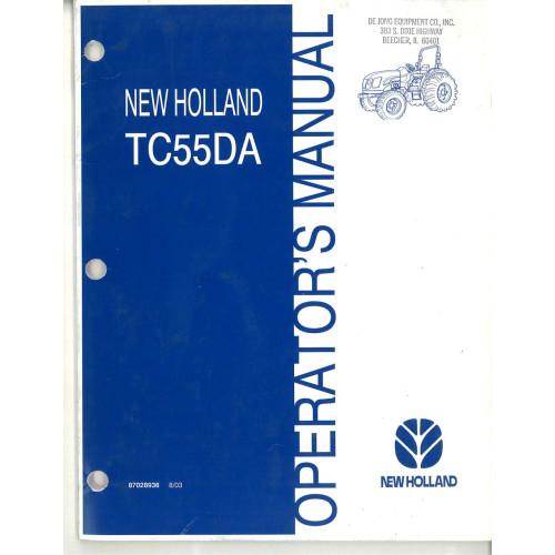 Tc55da New Holland Tractor Repair Manual