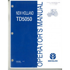 New Holland TD5050 Tractor Operator's Manual(87637588)