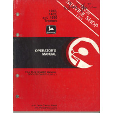 John Deere 1250 Tractor Operator's Manual (NOS)