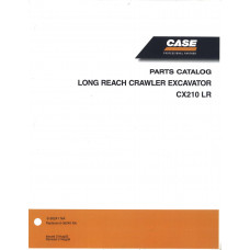 Case CX210 LR Excavator Parts Manual (6-36241NA)