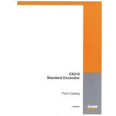 Case CX210 Excavator Parts Manual (7-6601NA)
