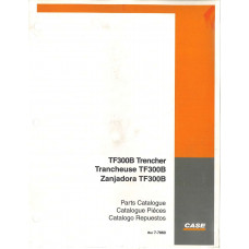 Case TF300B Trencher Parts Manual (7-7860)