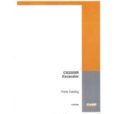 Case CX225SR Excavator Parts Manual (7-8970NA)
