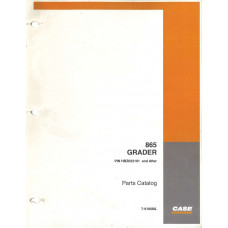 Case 865 Grader Parts Manual (7-9180ML)