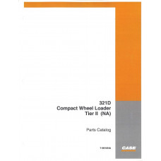 Case 321D Wheel Loader Parts Manual (7-9910NA)