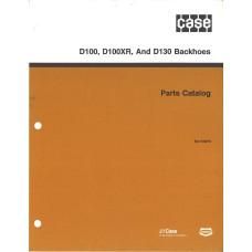Case D100XR Backhoe Parts Manual (8-6210)