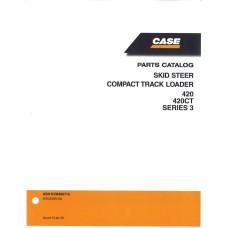 Case 420 Skid Steer Parts Manual (87632289NA)
