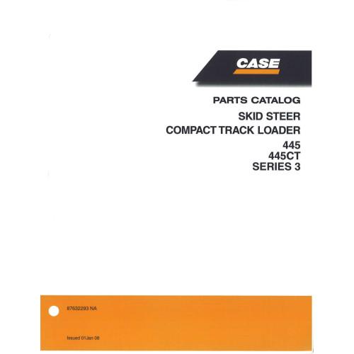 case 445ct skid steer parts manual 87632293na rh jensales com Case 445CT Tracks Case 445CT Tracks
