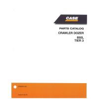 Case 850L Crawler Dozer Parts Manual (87659316NA)
