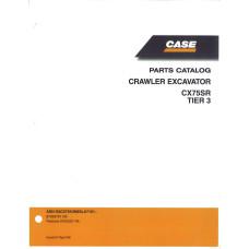 Case CX75SR Crawler Excavator Parts Manual (87659781NA)
