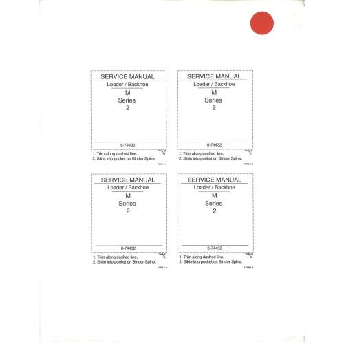 Case 580M Turbo Tractor Loader Backhoe Service Manual 674432