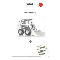 Case  445 Skid Steer Loader Service Manual (6-75491)
