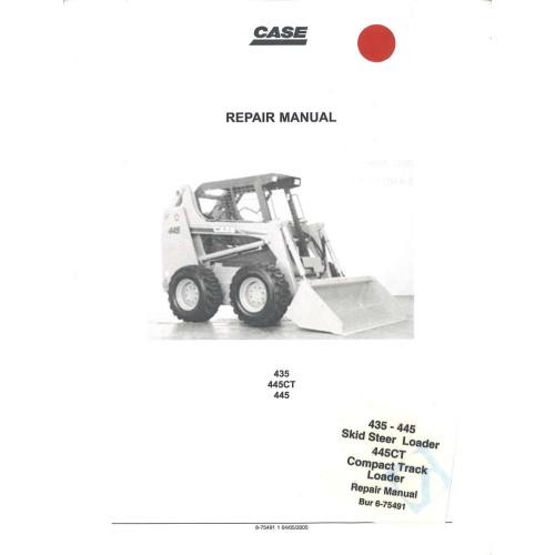 case 445ct skid steer loader service manual 6 75491 rh jensales com Case 445 Problems Case 445 Skid Steer Parts