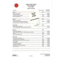 Case 430 Skid Steer Loader Service Manual (6-78960NA)