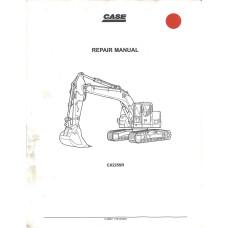 Case CX225SR Crawler Excavator Service Manual (9-40691GB)