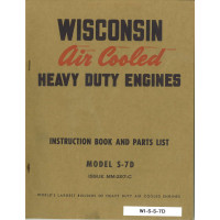 Wisconsin S-7D Engine Service Manual (297C)
