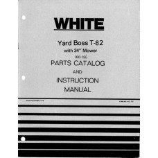 White T82 Lawn & Garden Tractor Parts Manual (432755)
