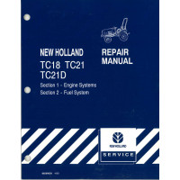 New Holland TC21 Tractor Service Manual (86590939)