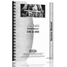 Nuffield 3/45, 4/65 Tractor Operator Manual