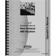 New Holland 469 Haybine Operators Manual