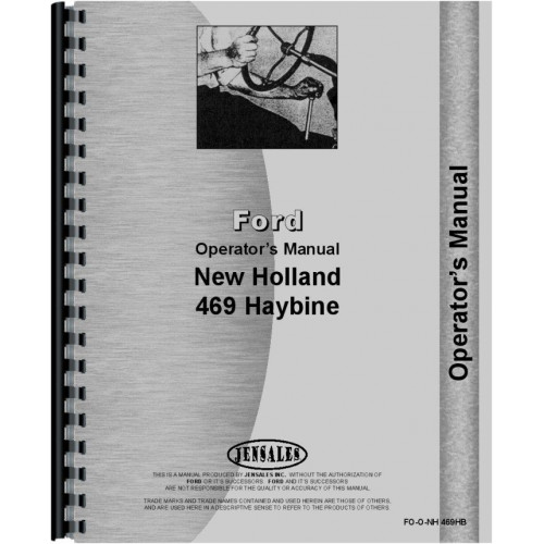 new holland 469 haybine operators manual rh jensales com New Holland 488 Haybine Parts New Holland 489 Haybine Parts