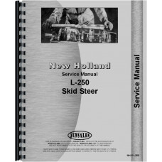 New Holland L250 Skid Steer Service Manual