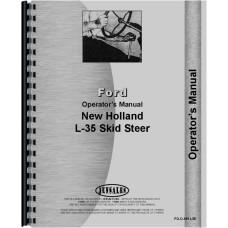 New Holland L35 Skid Steer Operators Manual