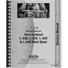 New Holland L445 Skid Steer Service Manual