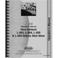 New Holland L554 Skid Steer Operators Manual
