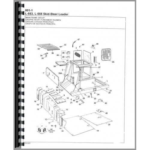 new holland l555 skid steer wiring diagram
