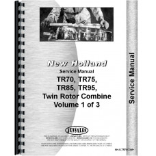 New Holland TR95 Combine Service Manual