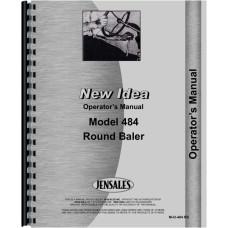 New Idea 484 Round Baler Operators Manual