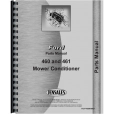New Holland 460 Mower Conditioner Attachment Parts Manual (Mower Conditioner)
