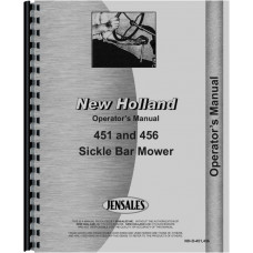 New Holland 456 Sickle Bar Mower Operators Manual (Sickle Bar Mower)