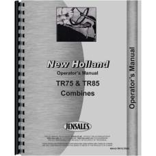 New Holland TR85 Combine Operators Manual