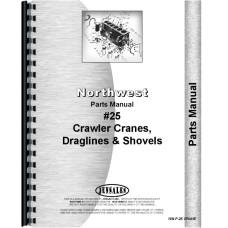 Northwest 25 Crane, Dragline, Shovel Crane Parts Manual