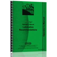 Oliver Cletrac Lube Specs Operators Manual