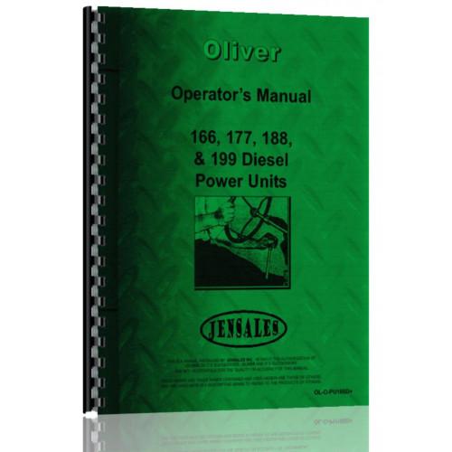Oliver 188 Engine Operators Manual