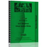 Oliver 2-78 Backhoe Attachment Service Manual (2-78)
