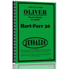 Oliver (Hart Parr) Hart Parr 30 Tractor Service Manual