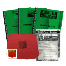 Oliver 1250 Deluxe Tractor Manual Kit