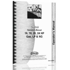 Linamar LX720, LX770, LX790, LX990 Onan Engine Operators Manual
