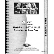 Oliver (Hart Parr) Hart Parr 18-27 Tractor Service Manual